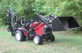 craftsman garden tractors. sears craftsman gt5000 garden tractor loader and backhoe_1 tractors