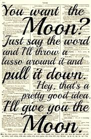 Lasso The Moon It's A Wonderful Life Quote Dictionary Print Buy 40 Custom Wonderful Life Quotes