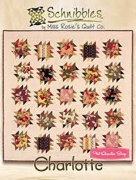 128 best Miss Rosies Quilts---Carrie Nelson images on Pinterest ... & Charlotte Schnibbles Charm Pack Pattern Miss Rosie's Quilt Company  Schnibbles Pattern Adamdwight.com