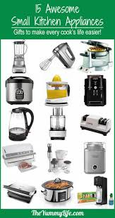 Names Of Kitchen Appliances 15 Awesome Small Kitchen Appliances