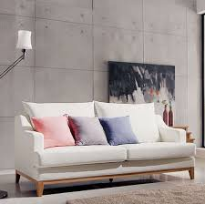 Scandinavian furniture style Chair Dodge Scandinavian Modern Style Furniture Small Apartment Minimalist Japanese Style Fashion Senior Pu Frame Sofa Specials The Interior Outlet Dodge Scandinavian Modern Style Furniture Small Apartment Minimalist