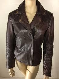 maxmara leather biker s jacket