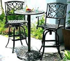 high pub table set top bistro sets outdoor and chairs cosco retro 3 piece bar height