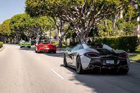 Starting off as a motorsport team. New Los Angeles Supercar Tour Puts You Behind The Wheel Of Ferrari Lamborghini Maserati Mclaren