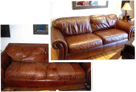 Leather Couch Restoration Before After Photos Of Recent Jobs Repairs And Refurbishing