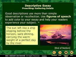 writing workshop descriptive writing descriptive essay ppt  9 good descriptions
