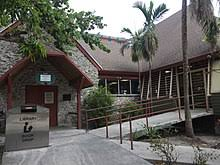 exterior view of the coconut grove library