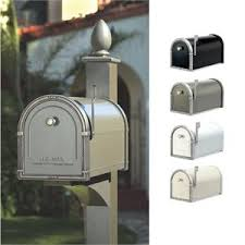 Decorative Mail Boxes Coronado Mailbox with Decorative Post by Architectural Mailboxes 55