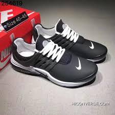 Nike Air Presto Air Presto Leather White Black Super Deals