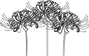 秋の花2 04 彼岸花 花の無料イラスト素材 イラストポップ