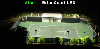 after 434 watt led tennis lights