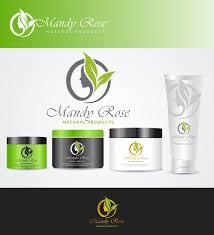 Natural Products Logo Design Mandy Rose Natural Products Logo 183 Logo Designs For