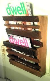Wooden Magazine Holder Ikea Make Of Wall Mount Magazine Rack RS FLORAL Design 64