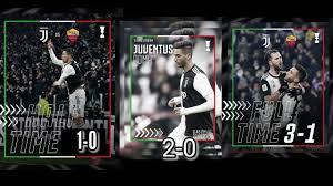 Juventus vs as Roma 3-1 full time 23 Jan 2020 - 22-01-2020