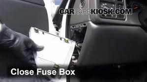 interior fuse box location 1999 2006 gmc yukon 2004 gmc yukon interior fuse box location 1999 2006 gmc yukon 2004 gmc yukon slt 5 3l v8