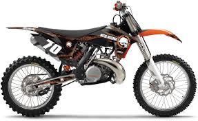 new ktm fx metal mulisha motocross graphics kit