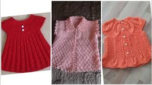 Hand Knitted Sweaters Designs For Baby Girl Beautiful And Stylish Hand Knitting Baby Frocks And Sweaters Designs For Girls