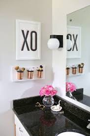 apartment bathroom decor. Bathroom, Exciting Apartment Bathroom Decorating Ideas Color Schemes And Crisp White Painted Wall Decor
