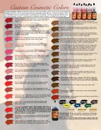 Taupe Color Chart Custom Cosmetic Color Brown R P