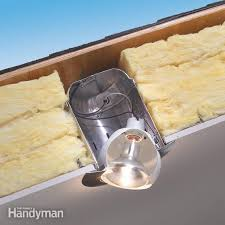 how to use insulated can lights in ceilings