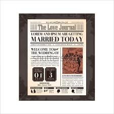 Wedding Invitation Newspaper Template 20 Old Newspaper Templates Psd Jpg Free Premium