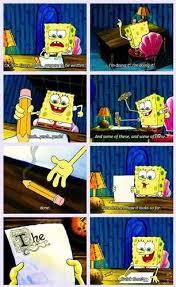 youtube poop  spongebob writes an essay   youtubespongebob writes an essay gif   help me write an essay