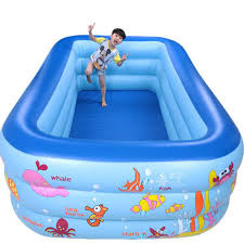 inflatable swimming pool for kids. Unique Pool 250cm Rectangle 3 Ring Kids Inflatable Pool Baby Swimming Family Children  Indoor Swim Poolin Swimming Pool From Mother U0026  To Inflatable For