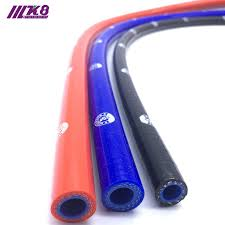 <b>Straight Silicone Coolant Hose</b> 1 Meter Length Intercooler Pipe ID ...