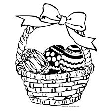 Small Picture Printable 28 Cool Easter Basket Coloring Pages 12029 Easter