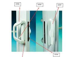 sliding glass door lock replacement sliding glass door parts
