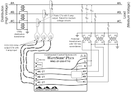 wiring diagram for pt s using potential transformers continental control systems figure 7 monitoring a three wire wye circuit out neutral