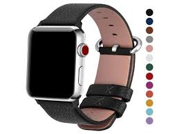 fullmosa compatible apple watch band 38mm 40mm 42mm 44mm calf leather compatible iwatch band strap