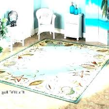 beachy area rugs 8x10 coastal for round nautical rug breathtaking kitchen runners awesome
