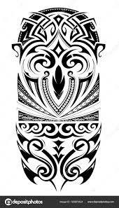 рукав размер татуировки орнамент векторное изображение Akvlv