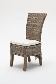 belgravia wing back rattan dining chair with cushion space saving chairs pads low wicker invacare wheelchair