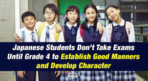 Japanese Students Dont Take Exams Until Grade 4 To