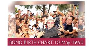 Bono Age Birth Horoscope What S In His Birth Chart