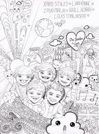 Kleurplaat One Direction Best En Bijgewerkt Kuplateswebsite
