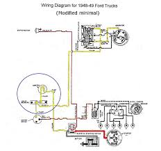 need help setting up a temporary wiring harness for a 49 flathead from what i can tell the circuitry in the blue circle can be further simplified into a three way splice like this