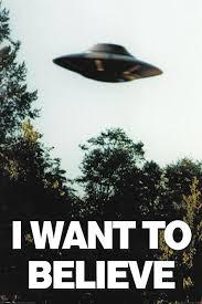 The X Files I Want To Believe Plakát Obraz Na Zeď Posterscz