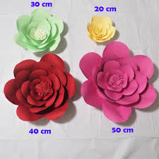 giant paper flowers artificial rose diy large paper rose wedding event backdrop baby nursery with tutorials 1 piece