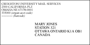 international mailing address format mailing address format expert screenshoot international