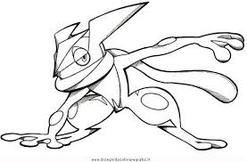 Pokemon X And Y Coloring Pages Frogadier Spectacular Colorare