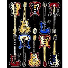 awesome area rug for home floor decoration luxury black guitar area rug for