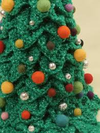 Free Crochet Christmas Tree Patterns Mesmerizing ▷ Crochet Christmas Tree Project Free Pattern And Video Tutorial
