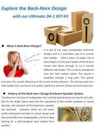 d4 1 back horn 4 full range diy kit