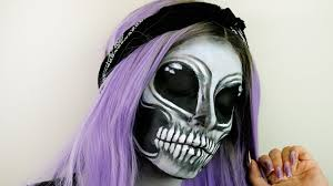 easy makeup tutorial 2016 skeleton alien