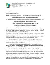 Pdf Cover Letter 2013 Church Conference Cover Letter Pdf Minnesota Annual