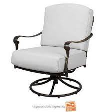 edington patio swivel rocker lounge chair with cushions included choose your own color