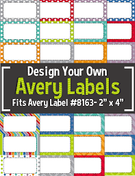 avery nametag editable avery labels 8163 2 x 4 tpt resources for